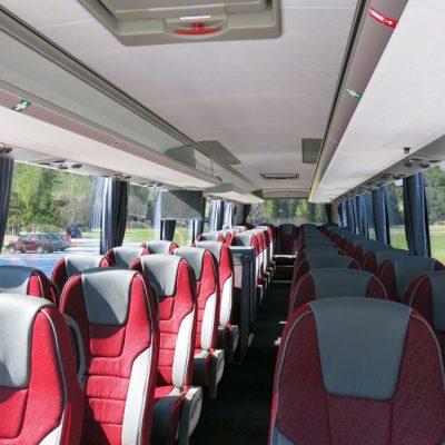 reisebus 53sitzer innen