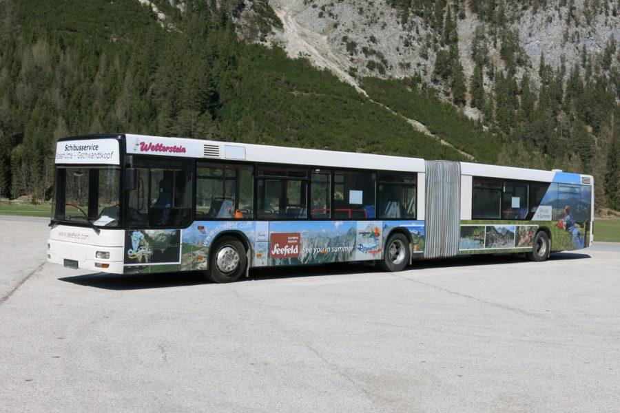 Gelenksbus 156 Pers.
