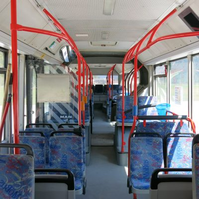 Sonderfahrtenbus Innenansicht